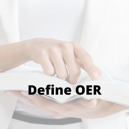 Define OER